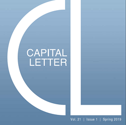Your Opportunity to be Featured in the Next Issue of Capital Letter (Editorial and Advertorial)